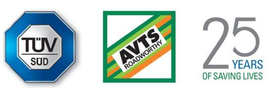 25 year avts tuv logo horizontal